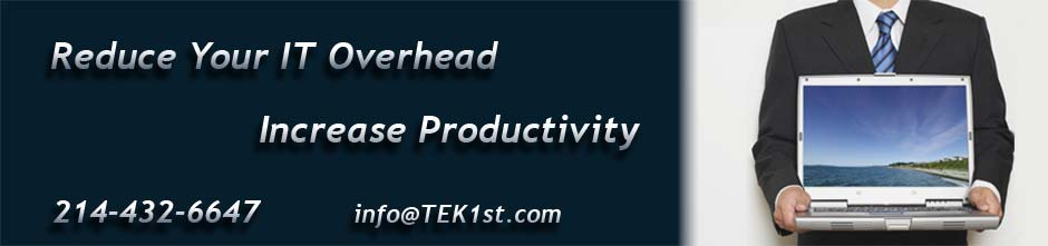 Reduce your It overhead, increase productivity